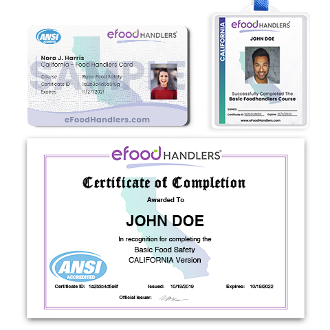 Certificate, Laminated Card & Badge